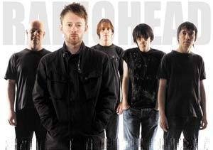 La banda inglesa de Rock alternativo Radiohead