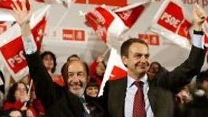 Zapatero participará en diez mítines frente a los 14  de Rubalcaba y los 13 de Chacón