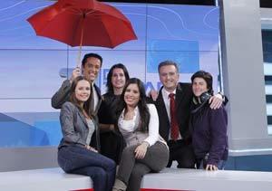 El equipo que hace posible que se emita El Tiempo en Telemadrid