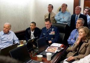 Obama, analizando en la Casa Blanca la operación contra Bin laden