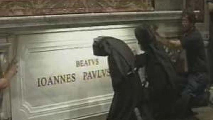 Los restos del beato Juan Pablo II se podrán venerar  desde este martes en la Capilla de San Sebastián