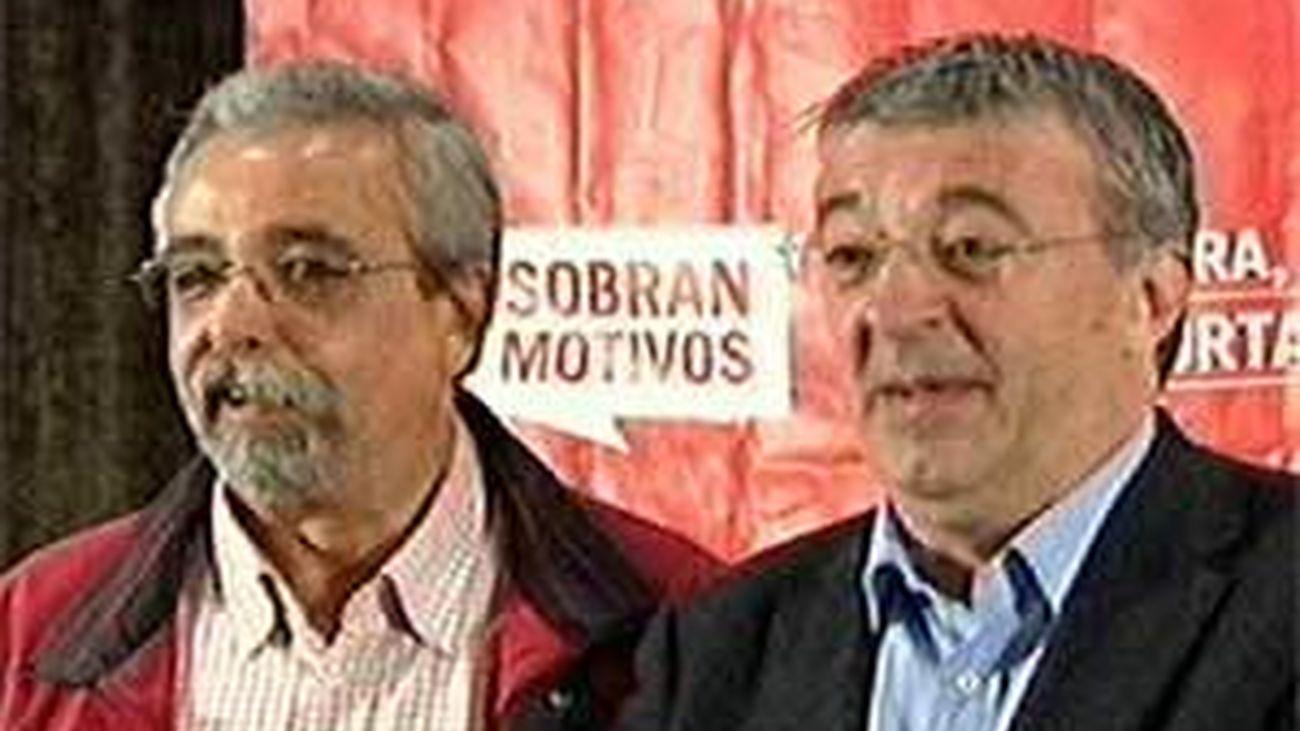 """Gordo y Pérez considerán que """"sobran motivos para  apoyar a Izquierda Unida"""""""
