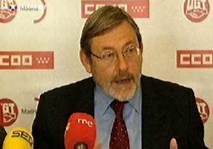 Lissavetzky invita a los sindicatos a participar en un Pacto de  la Villa para crear empleo