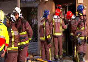Hallada muerta la vecina del edificio derrumbado  en Santa Coloma