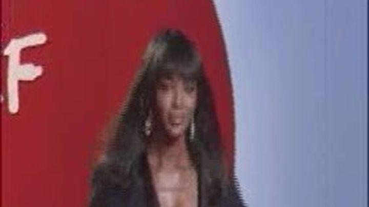 Accidentado desfile benéfico en Cannes