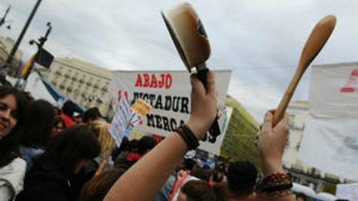La Policía no desalojará la Puerta  del Sol mientras no haya incidentes