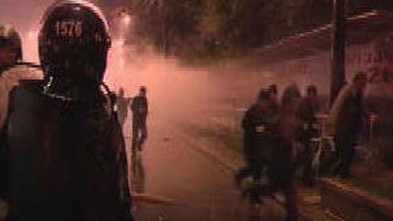 Un policía y un activista opositor mueren en los enfrentamientos en Tiflis