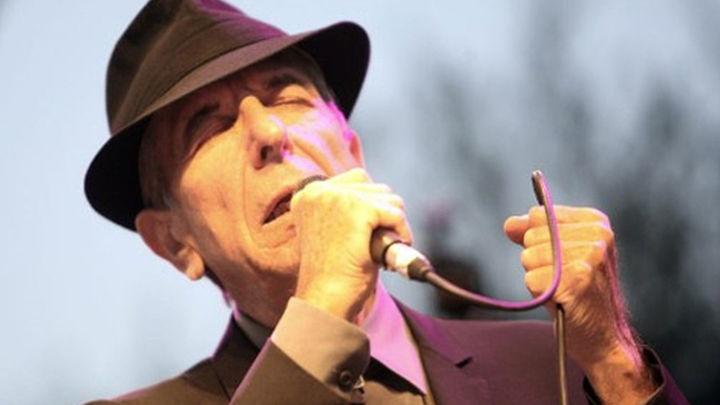 Leonard Cohen actúa este viernes  en el Palacio de los Deportes