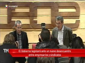 Patronal y sindicatos rompen las negociaciones  sobre la reforma de la negociación colectiva