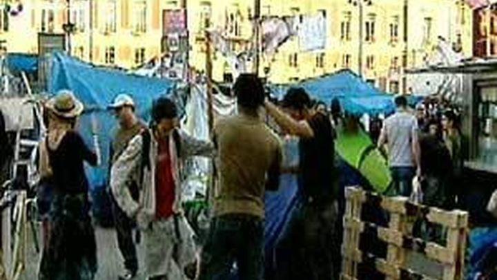 El movimiento 15M prevé acampar en la puerta del Sol a partir del 12 de mayo