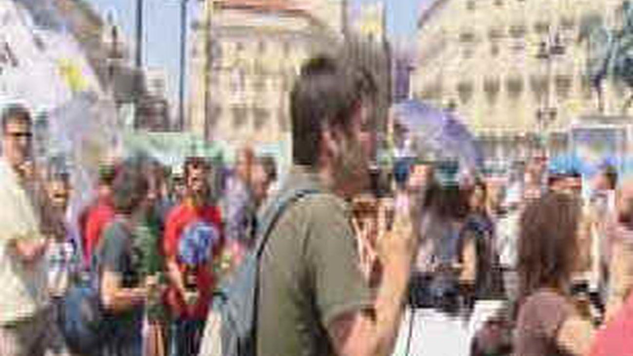 """Los """"indignados"""" quieren tomar Madrid y refundar la democracia el 17 de julio"""