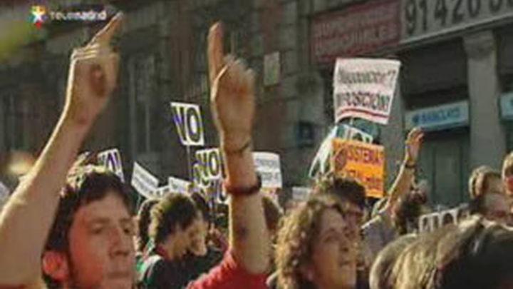 La policía teme que unos 50.000 indignados se manifiesten este domingo en Madrid