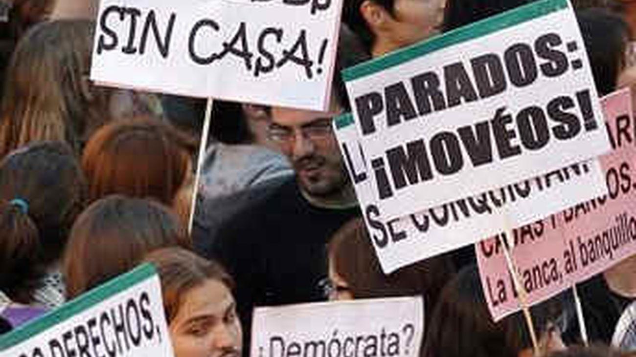 El 15-M toma hoy las calles con movilizaciones en toda España