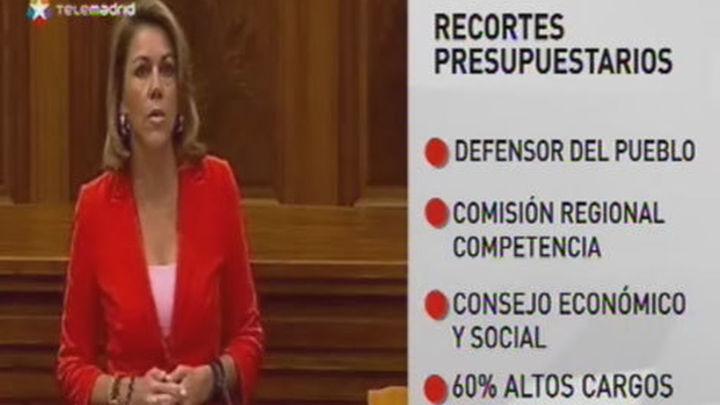 Cospedal eliminará el 60% de los altos cargos de la Junta de Castilla La Mancha