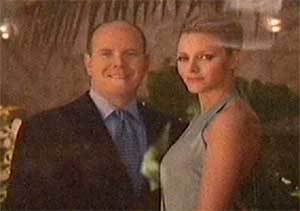 Alberto II de Mónaco y Charlene Wittstock ya son marido y mujer, tras la ceremonia civil