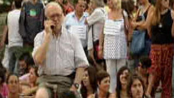"""Detenidos dos """"indignados"""" en Palma durante una manifestación en contra del un desalojo"""