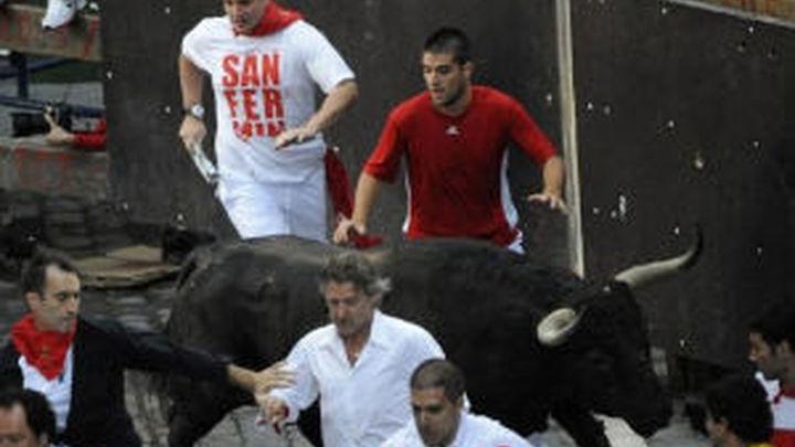 Un corredor madrileño trasladado a hospital con traumatismos tras el encierro
