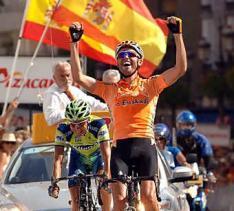 Samuel Sánchez  consigue en Luz Ardiden la segunda victoria española en el Tour de Francia