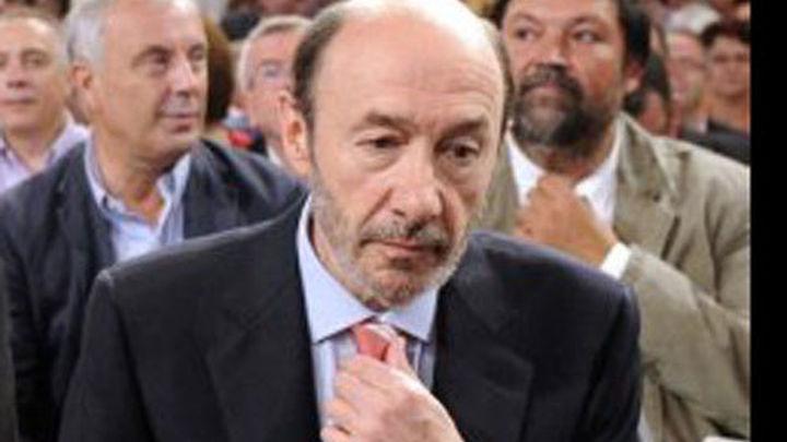 """Rubalcaba cree que hoy estamos """"más cerca del final""""  de ETA """"que ayer"""""""