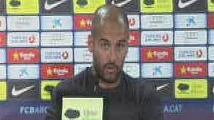 """Guardiola: """"Cesc nos hará mejores. No me gustaría que un jugador se plante"""""""