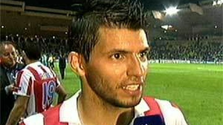 """El 'Kun' confirma en su twitter que está en Manchester para """"firmar con el City"""""""