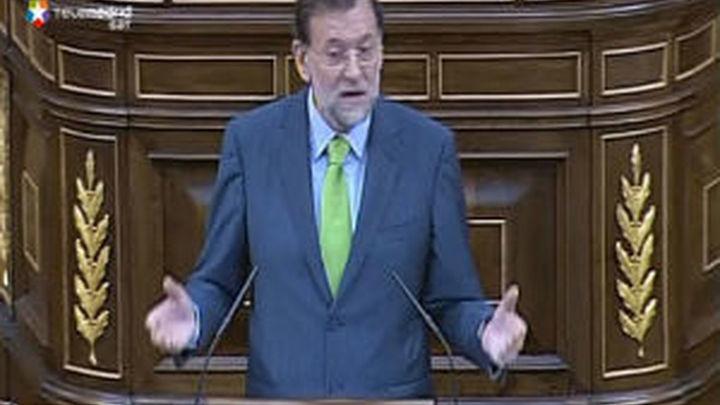 Rajoy sentencia al Gobierno y dice que sólo se espera la fecha electoral