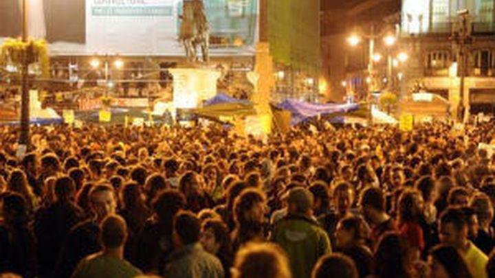 """Quedan en libertad los dos """"indignados"""" detenidos el jueves tras la carga policial"""
