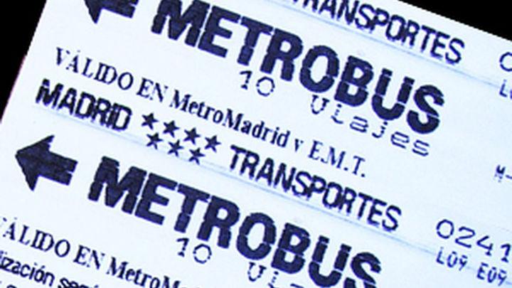 El billete sencillo de Metro, Metro Ligero y EMT sube a partir del lunes
