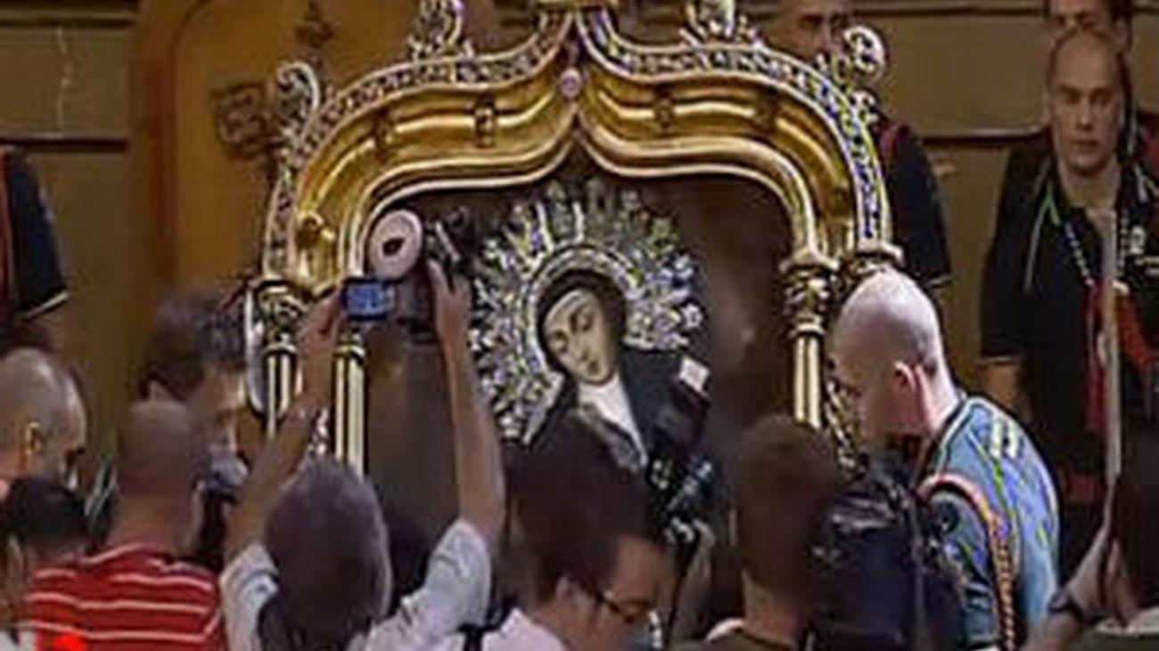 Gallardón destaca la hospitalidad de los madrileños en la celebración de la Virgen de la Paloma