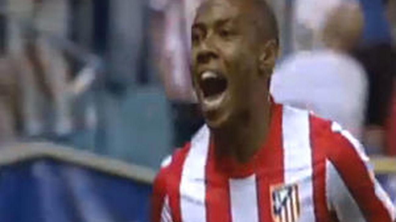 Elías y Adrián acercan al Atlético a la fase de grupos de la Liga Europa