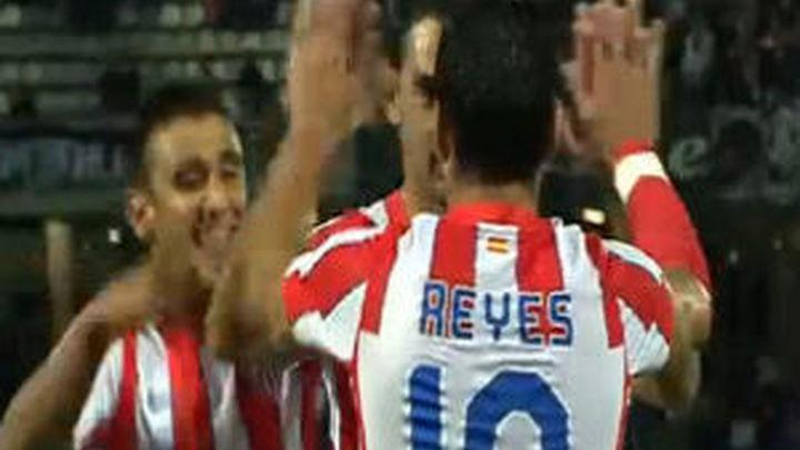 El Atlético pasa por encima del Guimaraes y entra en Europa