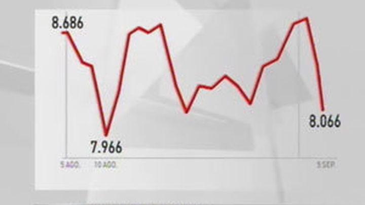 Las bolsas europeas caen casi un 5% al cierre