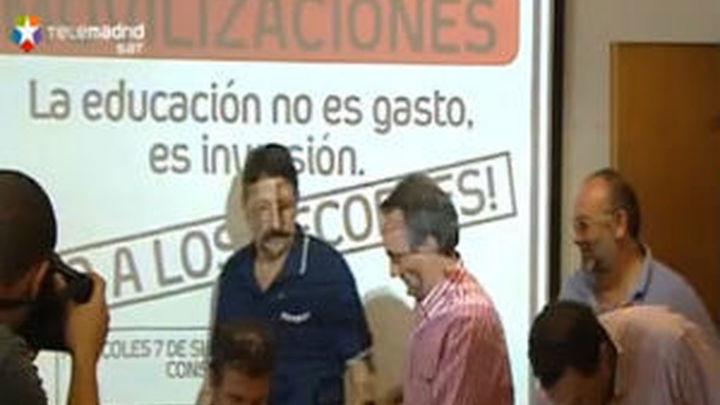 Los sindicatos de la enseñanza de Madrid confirman la huelga para el 14 de septiembre