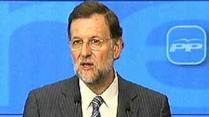 Rajoy dice que el camino para superar la crisis sólo lo puede recorrer el PP