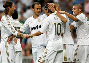 Real Madrid septiembre 2011