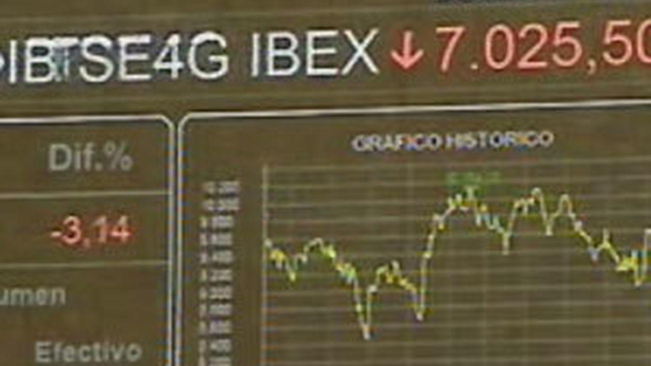 La posible quiebra de Grecia hunde un día más  las bolsas europeas