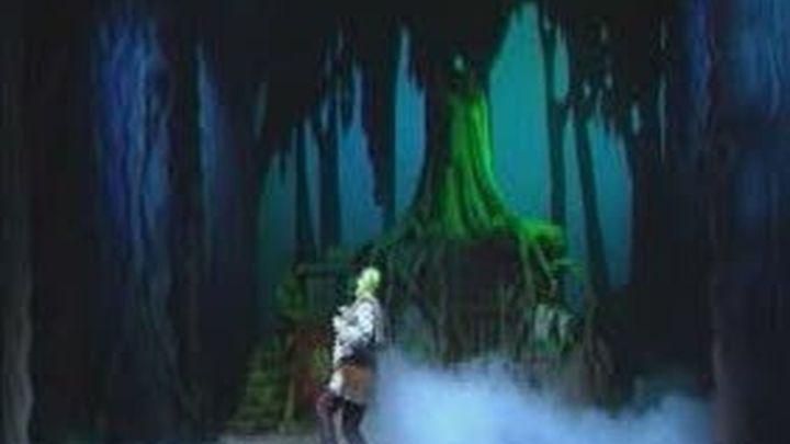 Un ogro verde llega al teatro