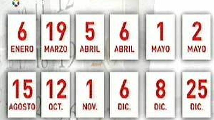 La Comunidad aprueba el calendario de fiestas laborales para el año 2012