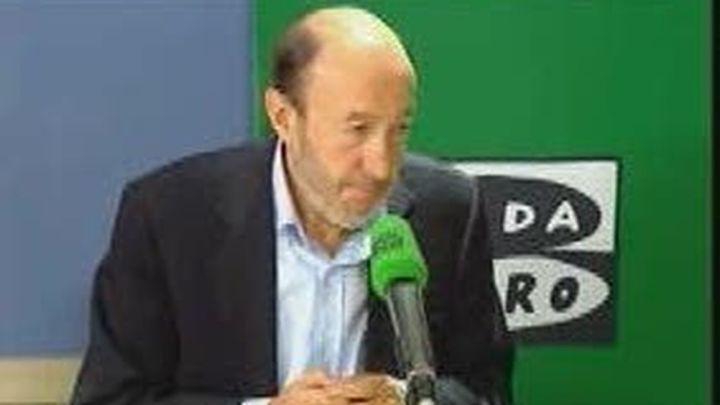 Rubalcaba no teme represalias por la condena a Otegi