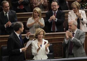 El Congreso despide a Zapatero