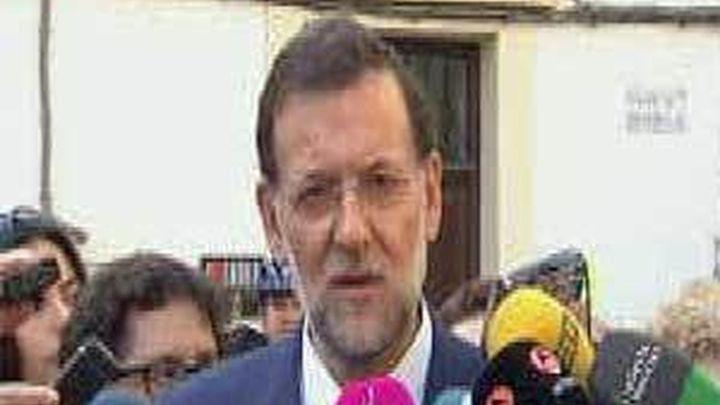 Rajoy garantiza ayuda a los lorquinos si es presidente