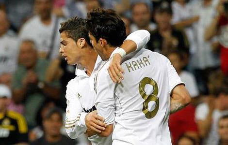 Cristiano Ronaldo y Kaká