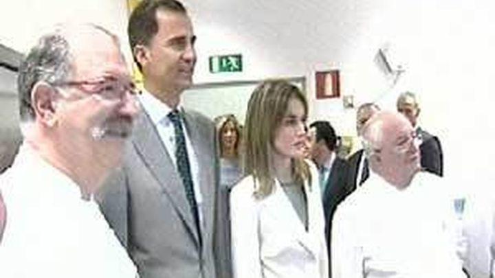 Los príncipes inauguran la primera Facultad de Gastronomía en ausencia de los cargos de Bildu