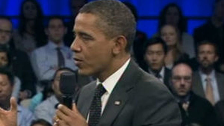 """Obama acusa a la eurozona de """"asustar al mundo"""" y critica la lentitud de la UE en la crisis"""