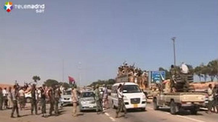 Los rebeldes libios entran en el centro de Sirte y controlan puntos estratégicos