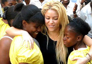 Shakira nueva asesora de Obama