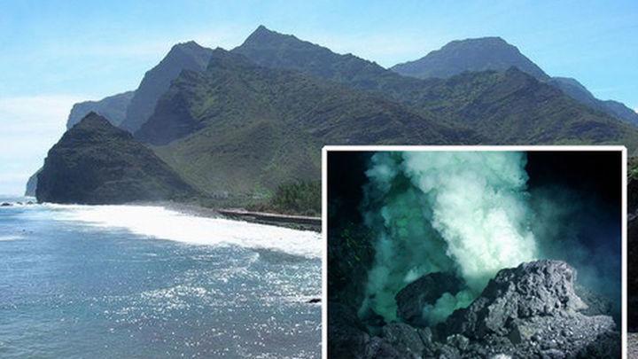 El mar de Las Calmas alcanzó los 30.9 grados, los días previos a la erupción