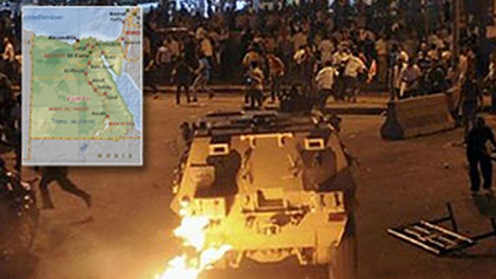 El Ejército reprime con dureza a los cristianos coptos