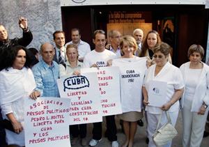 Esperanza Aguirre, acto Democracia para Cuba
