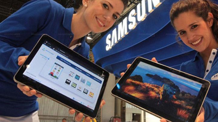Llega a España en julio la primera tableta de Samsung con Android 4.0